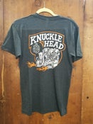 Image of Knucklehead Kansas Kamakura Blue Groove & Lawrence Vintage Cycle Collaboration Unisex Shirt