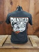 Image of Women's Panhead Kansas Kamakura Blue Groove & Lawrence Vintage Cycle Collaboration Ladies Shirt
