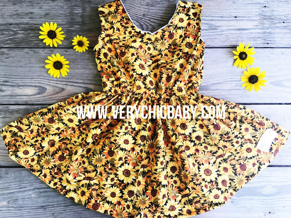 Image of Sunflower Jubilee Dress