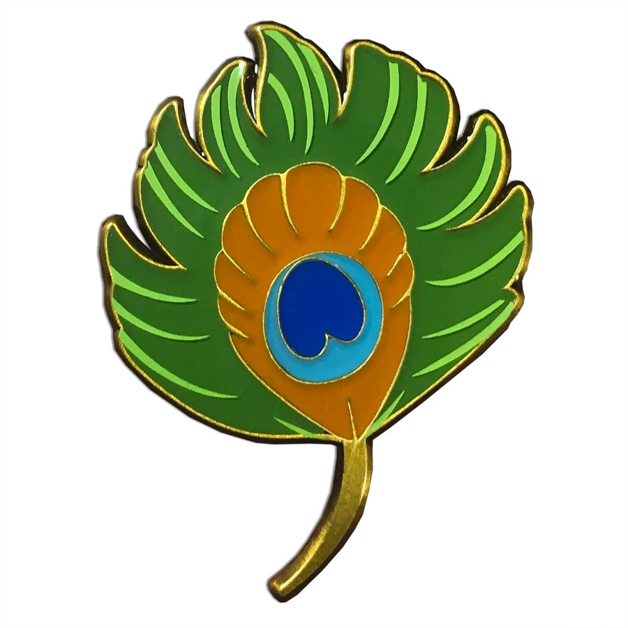 Image of Ritual Feather - Lapel Pin