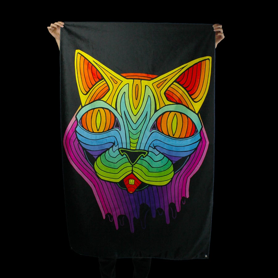 Image of ACID CAT TAPESTRY