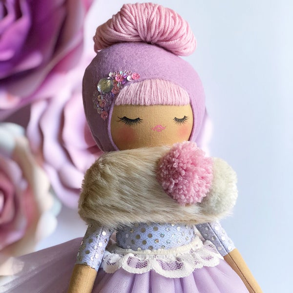 Image of Fancy Pants Doll Violet Fuchsia