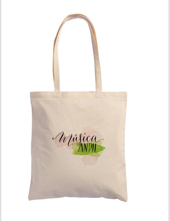 Image of Música Anpil Cloth Bag