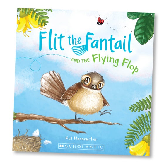 Image of Flit the Fantail and the Flying Flop