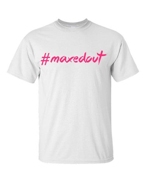 Image of Maxedout White with Pink
