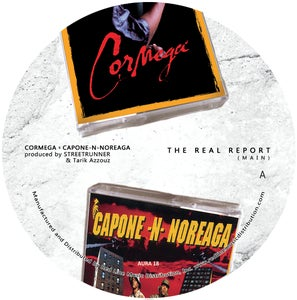 "Image of Cormega x Capone-N-Noreaga ""The Real Report"" Limited 7"" Vinyl"