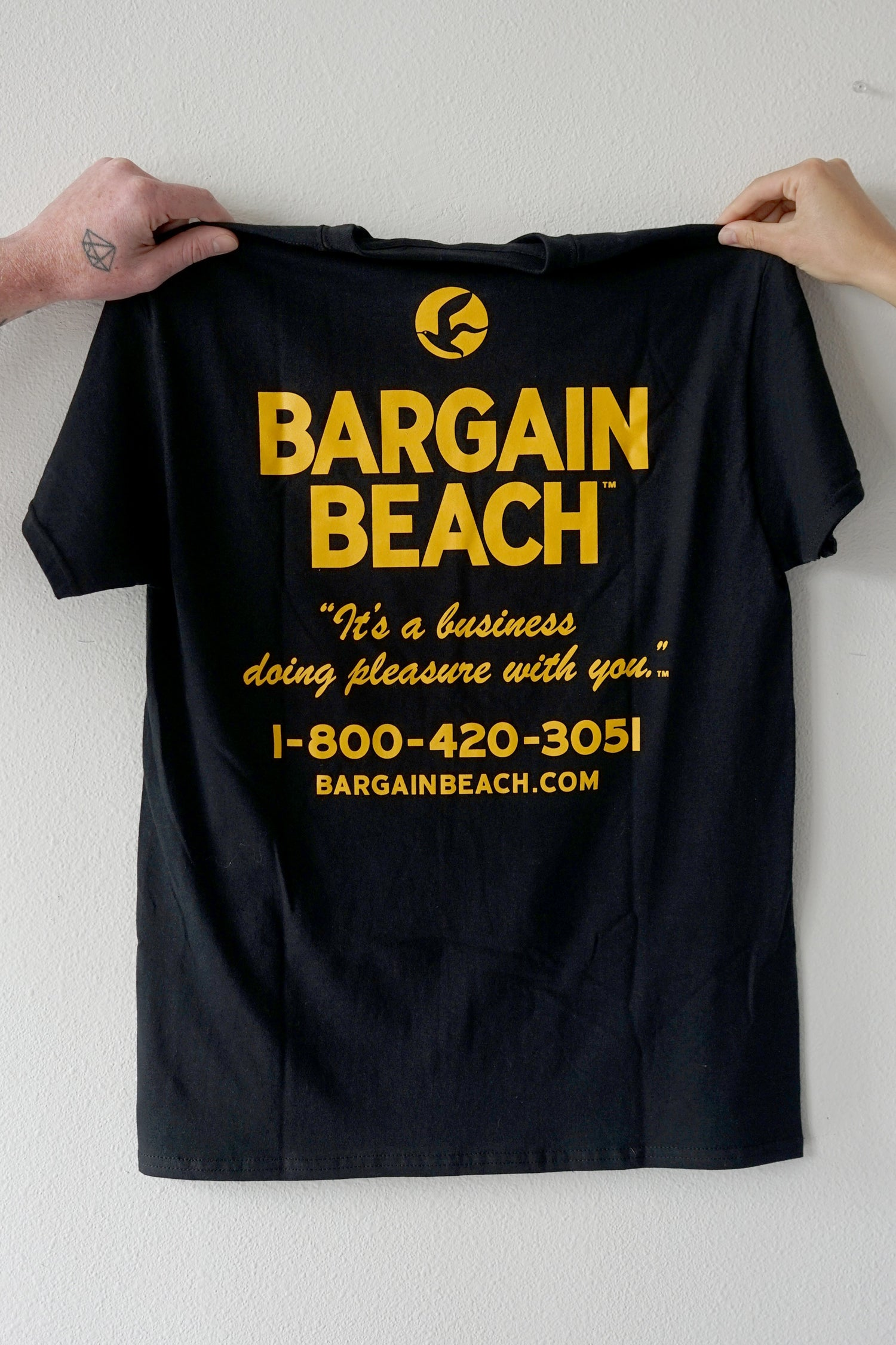 Image of Bargain Beach Party Line Tee