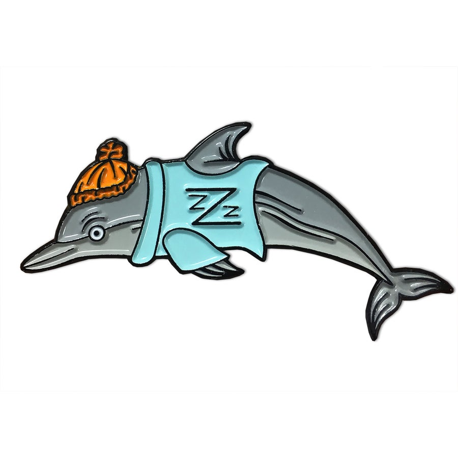 Image of B-Squad Dolphin - Lapel Pin
