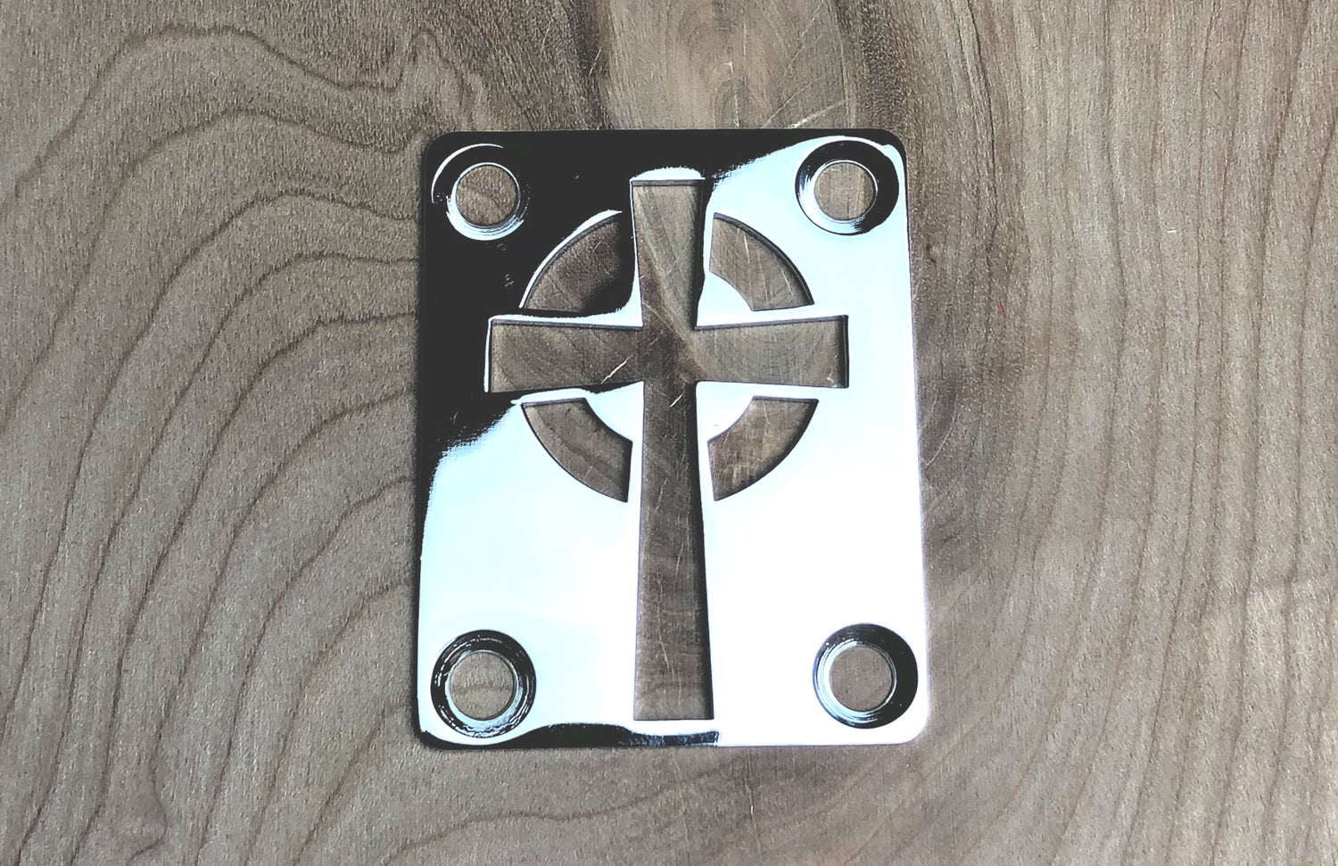 Image of Celtic Cross - Chrome Finish