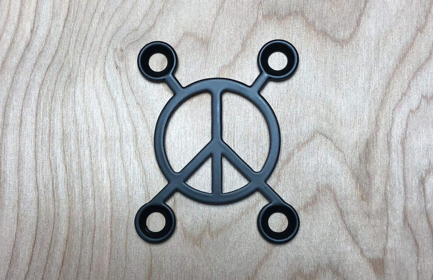 Image of Peace X - Industrial Black