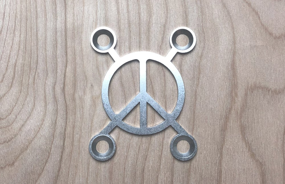 Image of Peace X - Stainless Steel