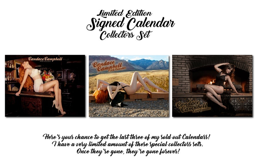 Image of Limited Edition Signed Calendar Collectors set