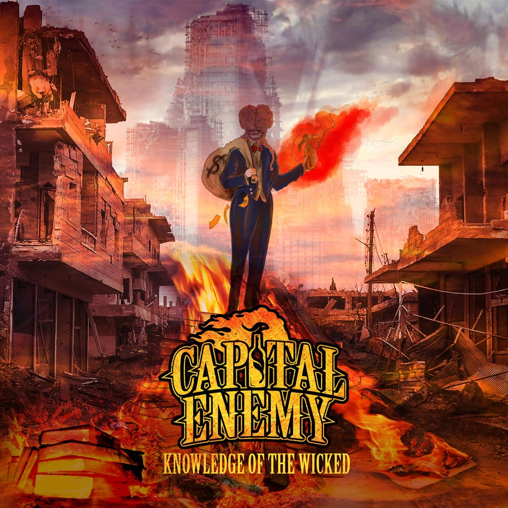Image of Capital Enemy - Knowledge Of The Wicked CD