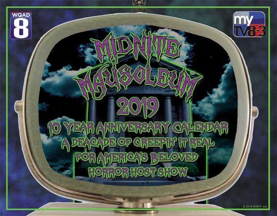 Image of Midnite Mausoleum 2019 - 10th anniversary calendar