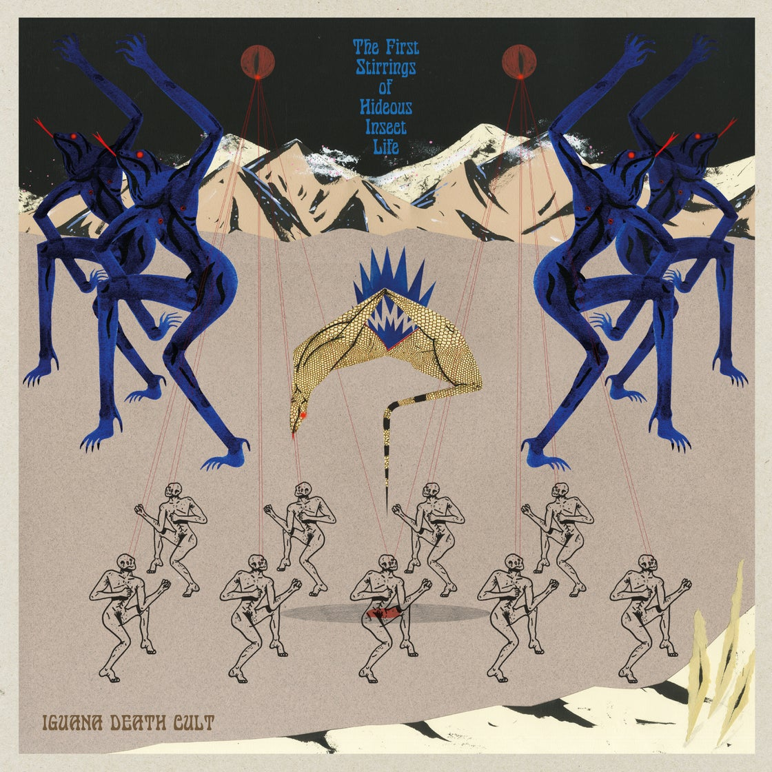 Image of LP – The First Stirrings Of Hideous Insect Life (Colored Vinyl)