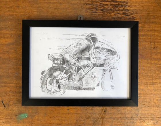 Image of Original framed sketch