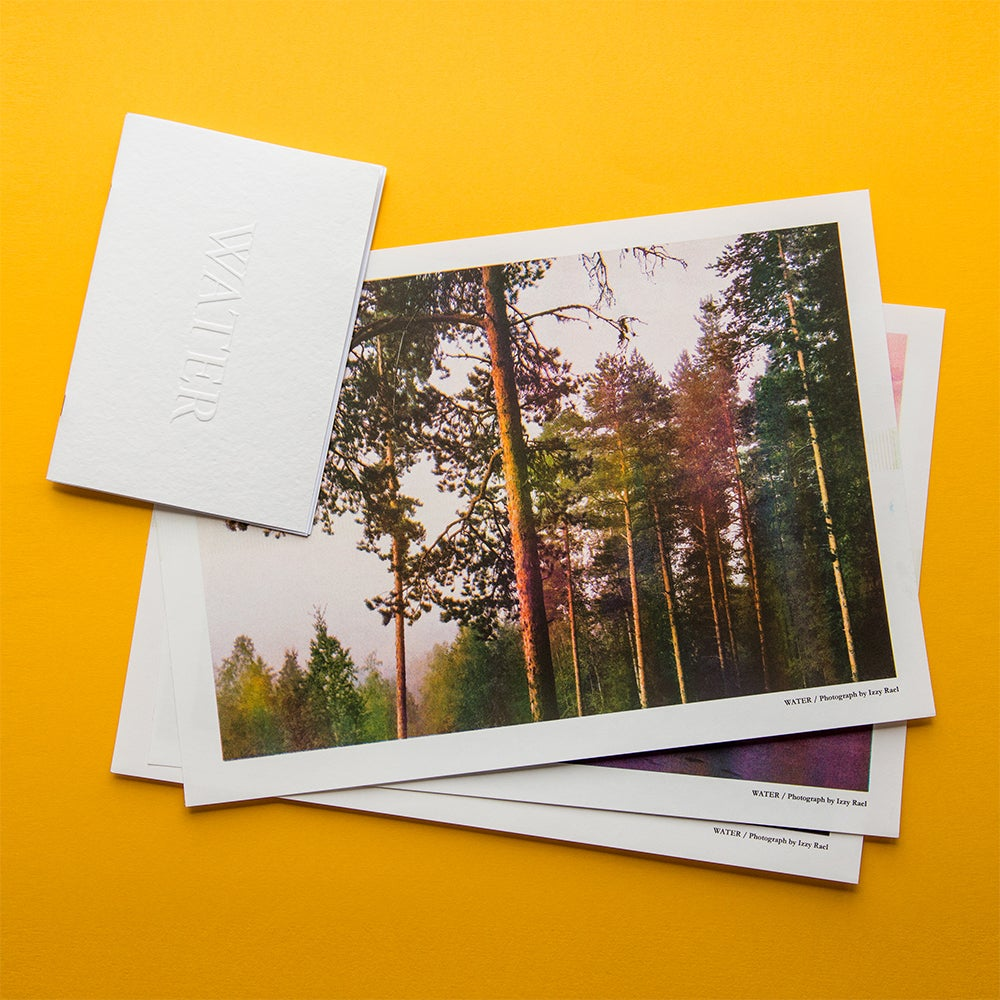 Image of Water Zine + Risograph Print