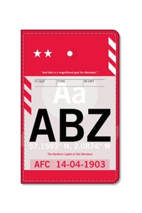 Image of ABZ Flight Tag Passport Holder