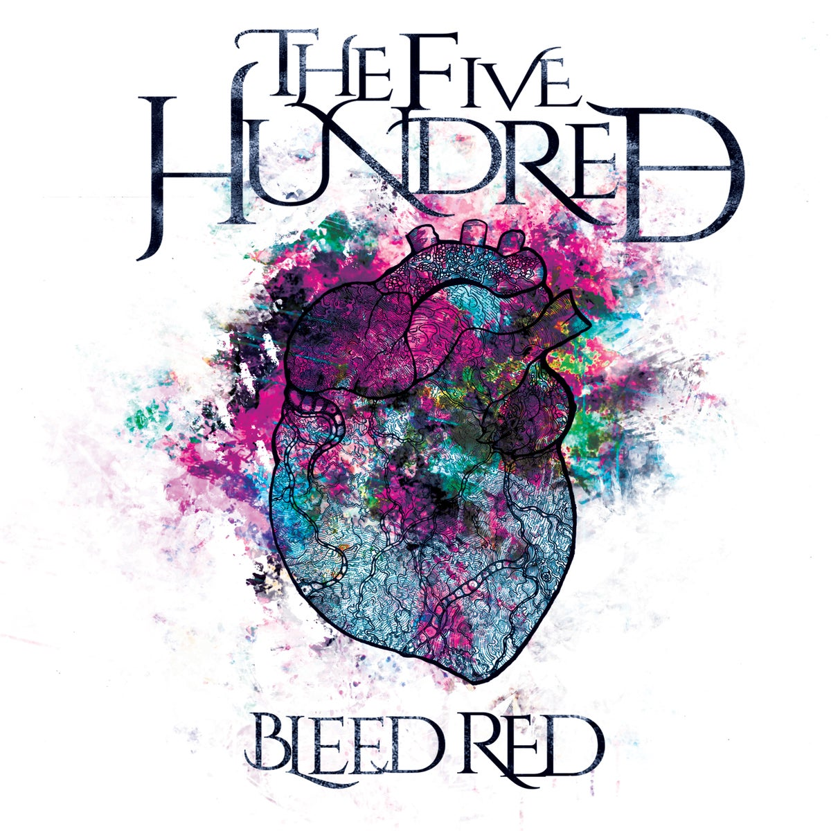"Image of The Five Hundred ""Bleed Red"" CD"