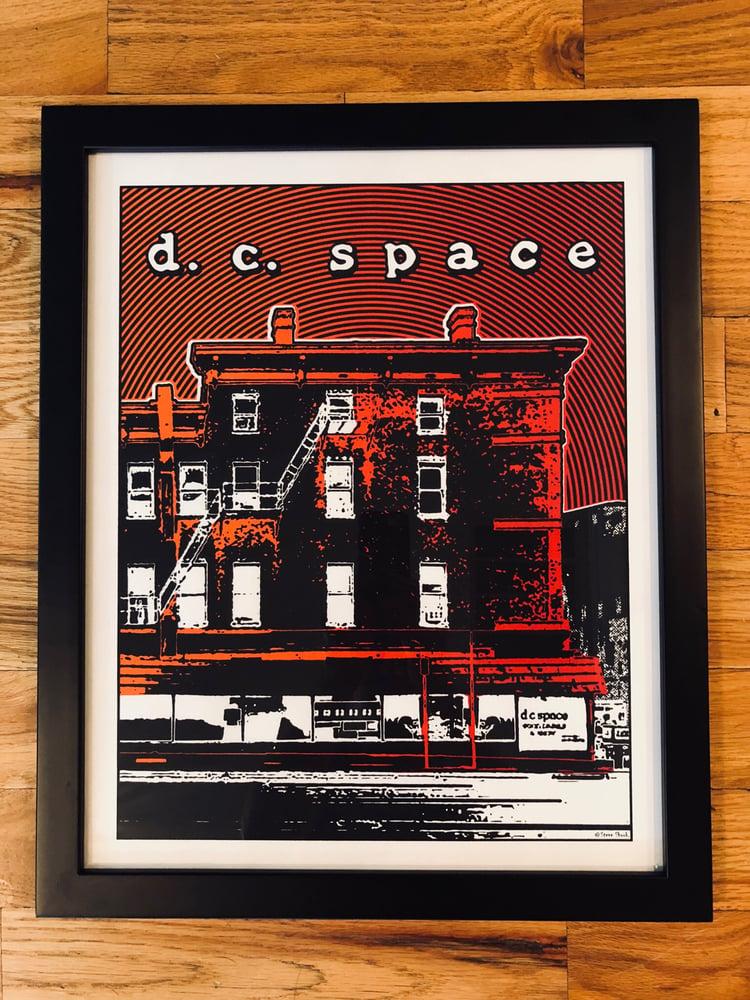 Image of DC Space Silk Screened Art Print