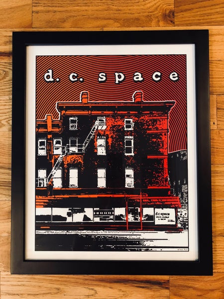 Image of DC Space Silk Screened Art Print