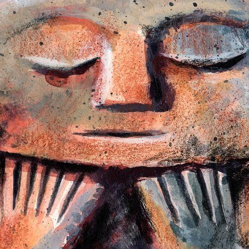 "Image of Paper Art Print - ""Tiki Papeete"""