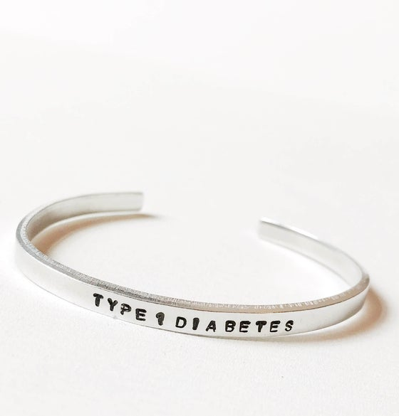 Image of Diabetes Bracelet Aluminium
