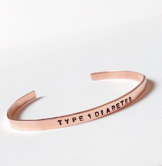 Image of Diabetes Bracelet Copper