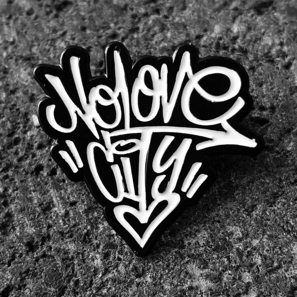 Image of Graffiti Logo Enamel Pin