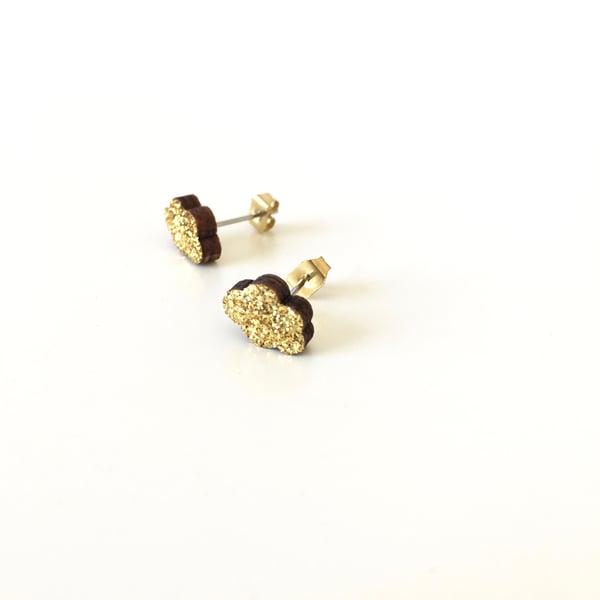 Image of Boucles paillettes Nuages