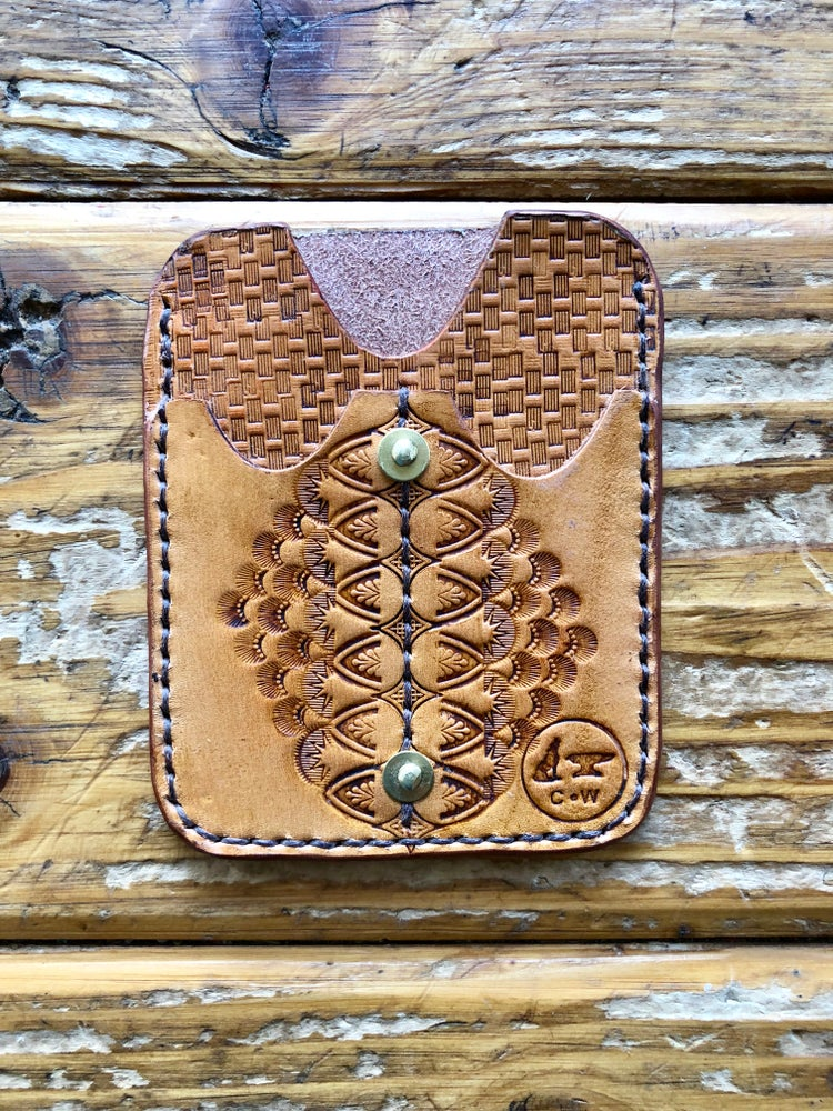 "Image of ""Knights Radiant"" Custom EDC Slip Wallet"