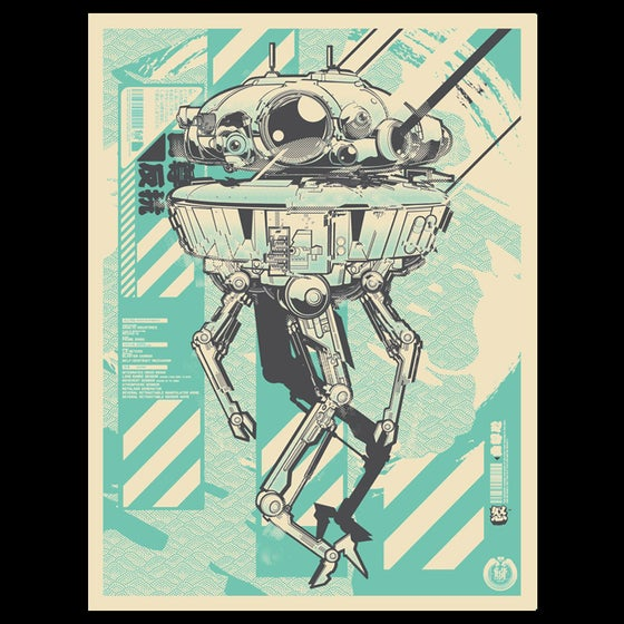 Image of Limited Edition: Viper Droid Print