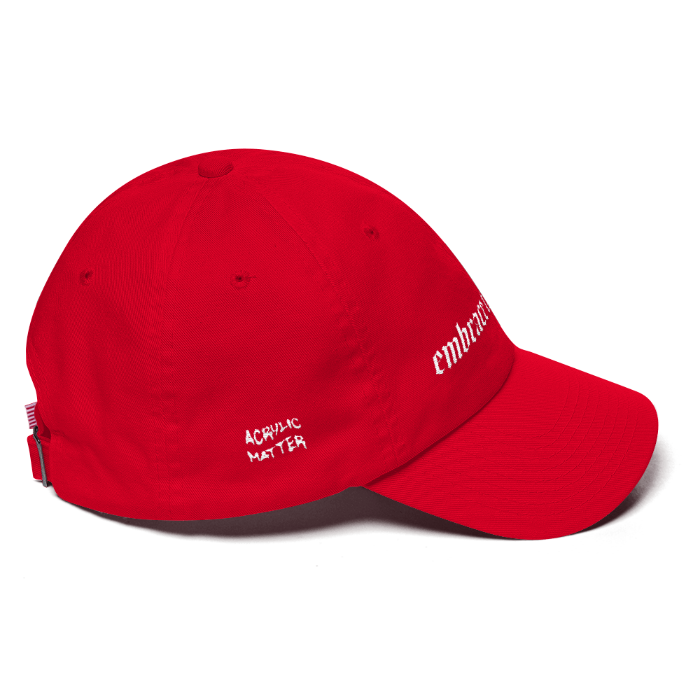 Image of EMBRACE THE WEIRD DAD CAP