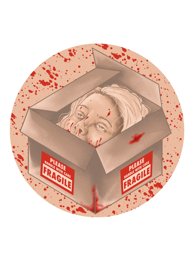 Image of What's In The Box? by Joshua Kelly (Button, Magnet & Sticker)