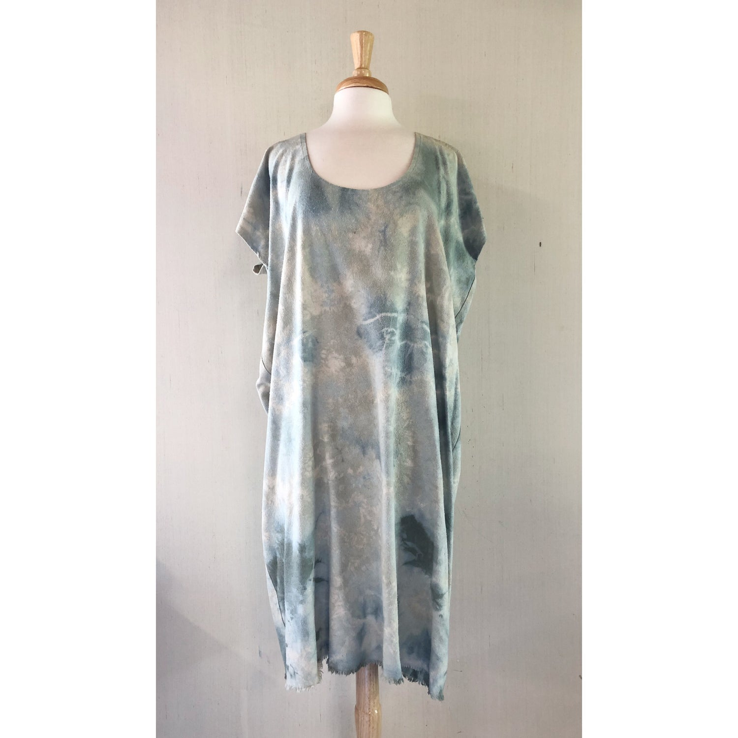 Image of Shibori Scoopdress