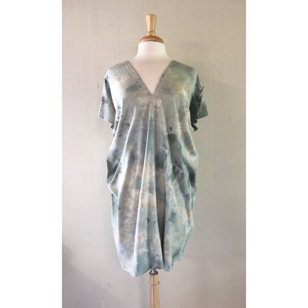 Image of Shibori V Dress