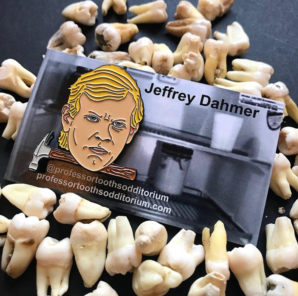 Image of Serial Killer Jeffrey Dahmer Soft Enamel Pin