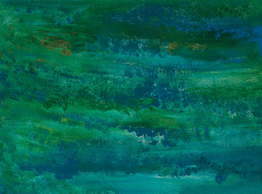 Image of Blue and Green Abstract