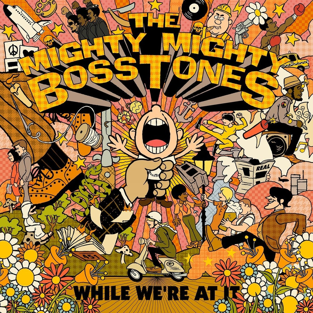 Image of Mighty Mighty Bosstones - While We're At It 2xLP (color vinyl)