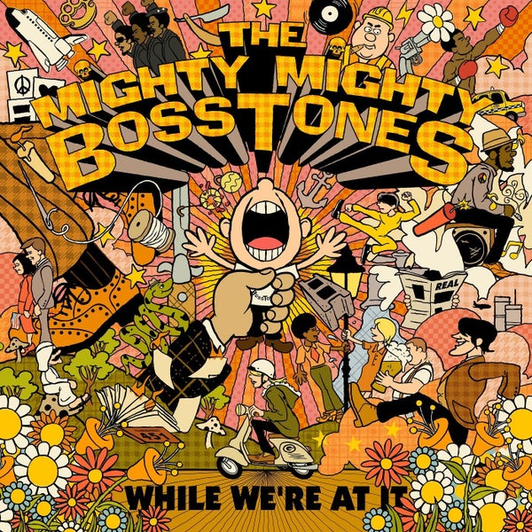 Image of *SECOND PRESSING PRE-ORDER* Mighty Mighty Bosstones - While We're At It 2xLP (color vinyl)