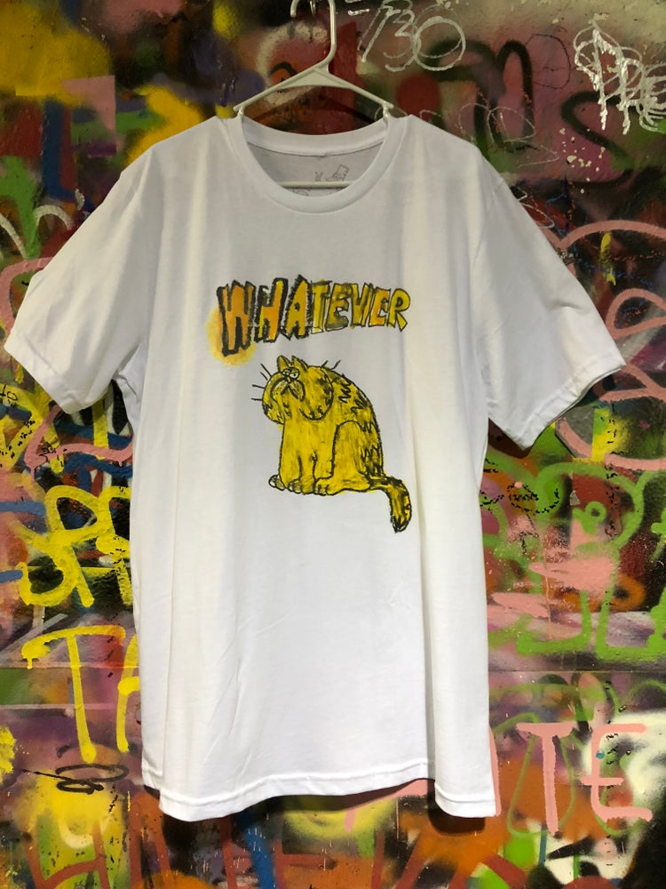 Image of Whatever Cat tee