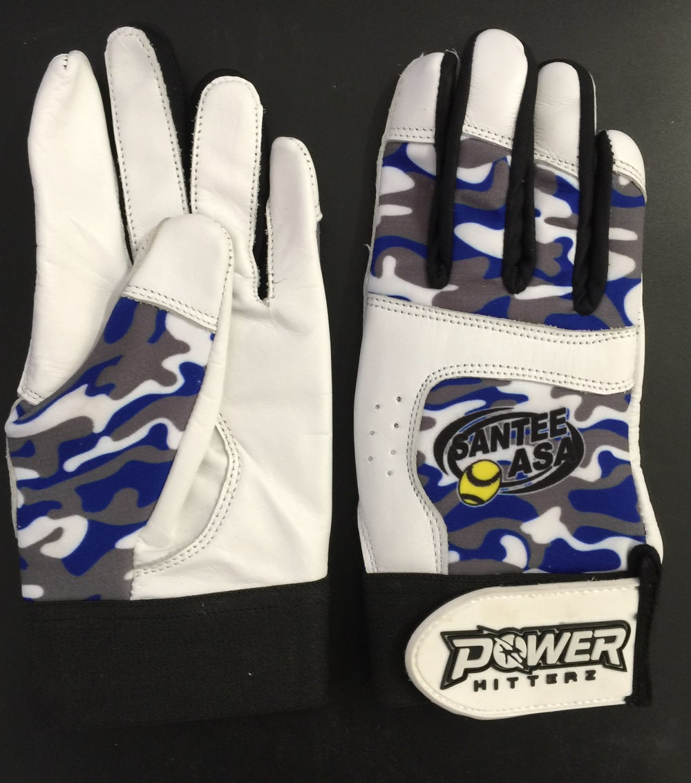 Image of Custom Team Batting Gloves 10 (pair)