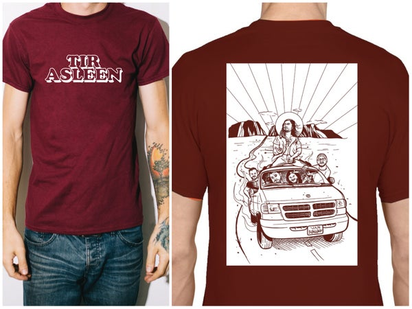 Image of SAVE VAN BURGUNDY Tee