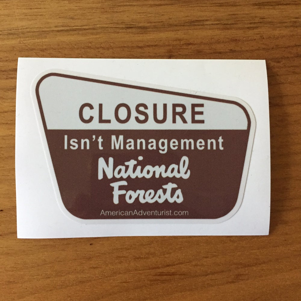 Image of NP Closure Isn't Management Decal v1