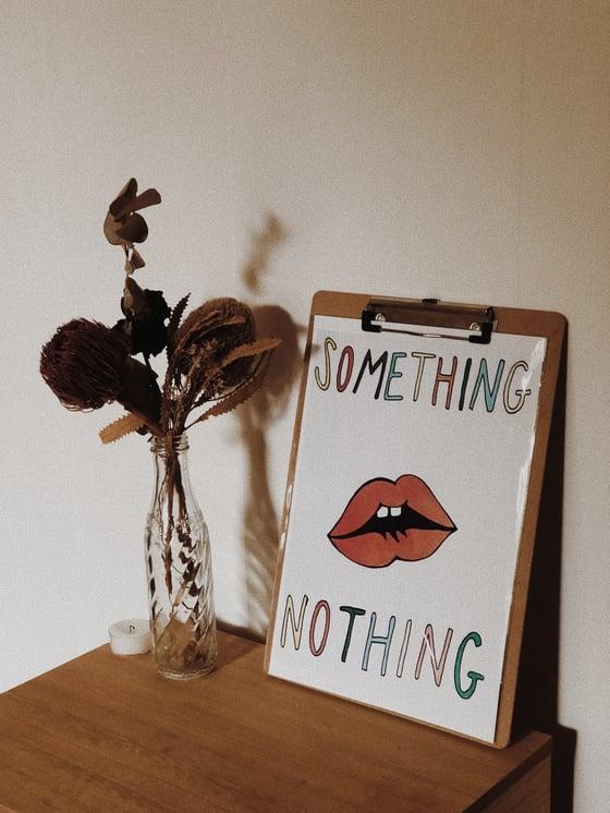 Image of SOMETHING / NOTHING