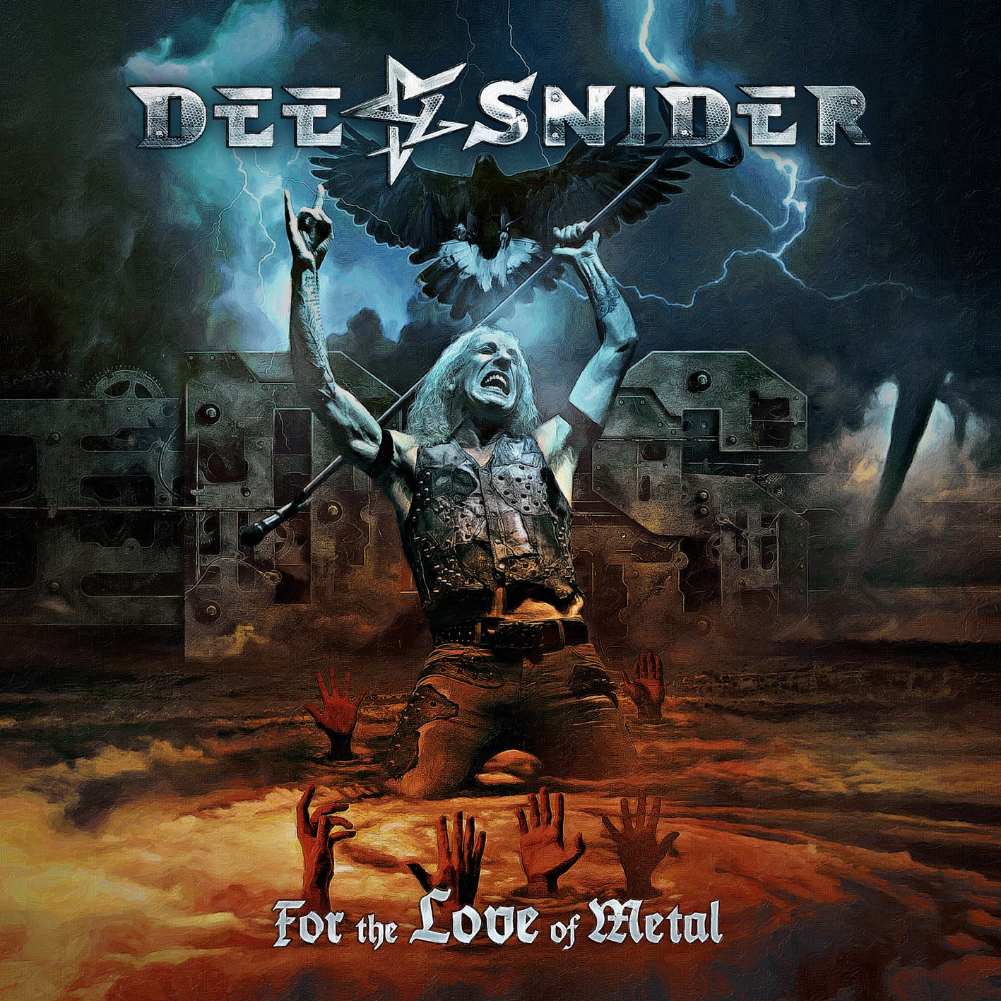 """Image of DEE SNIDER """"FOR THE LOVE OF METAL"""" AUTOGRAPHED 12"""" LP VINYL - PRE-ORDER"""