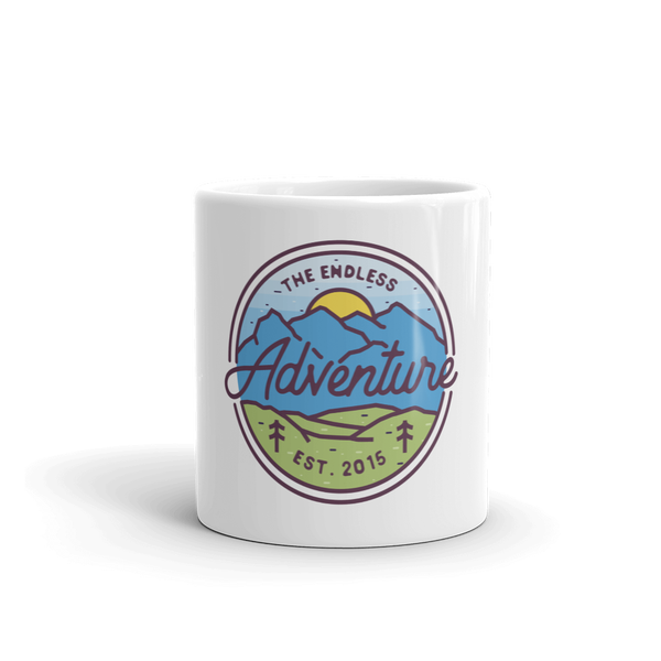 Image of TEA Mountain Scene Mug
