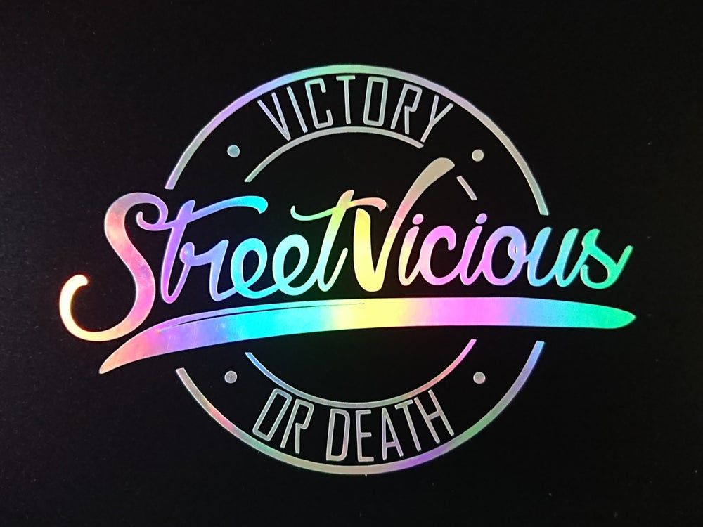 "Image of Street Vicious Stamp - 5"" Single Colour"