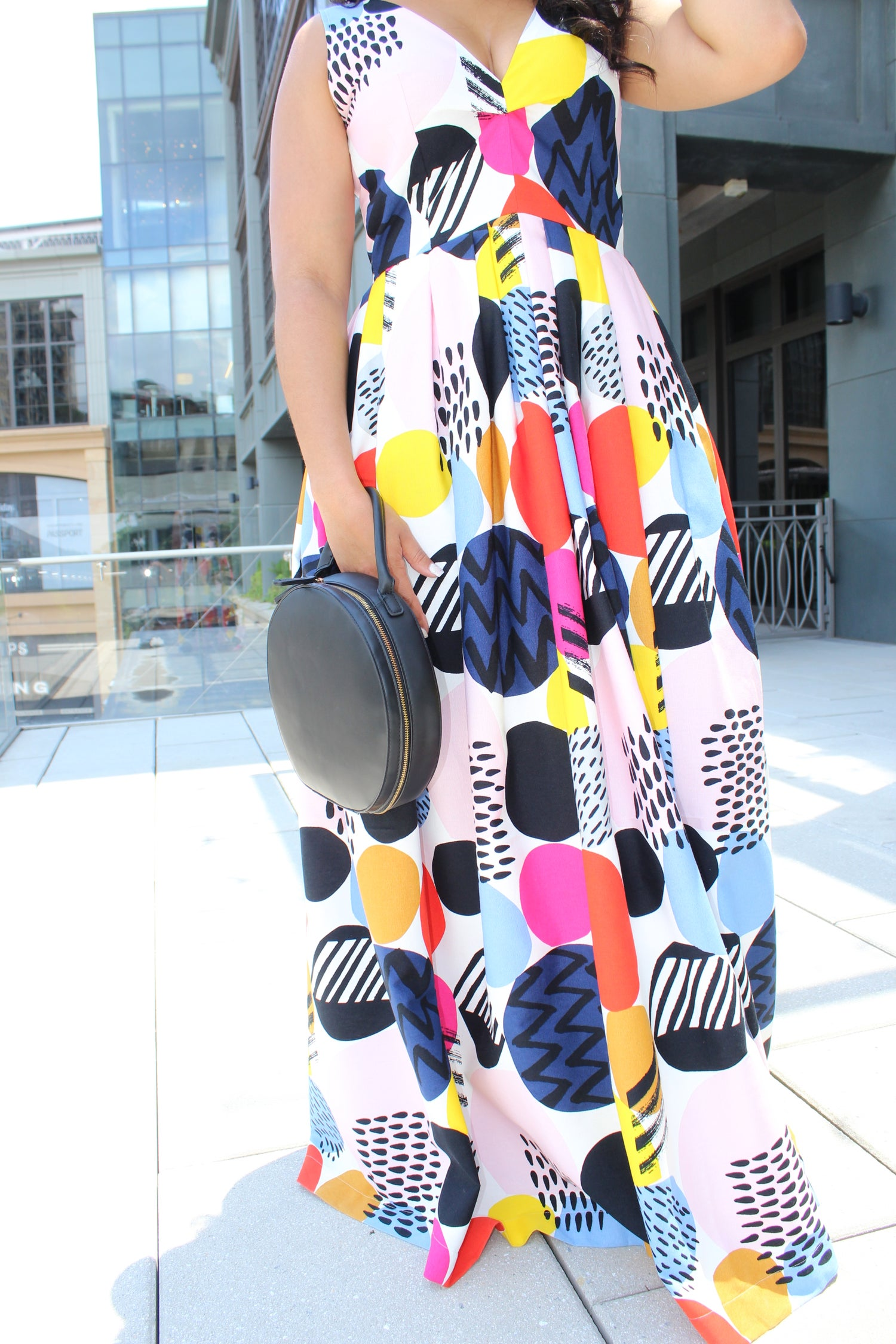 Image of Pop Art Maxi Dress