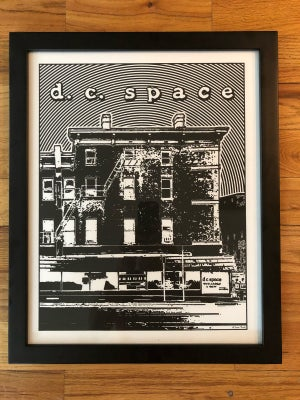 Image of DC Space Silk Screened Art Print - TWO-Off!